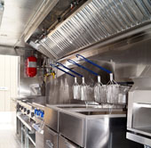 mobile industrial kitchen